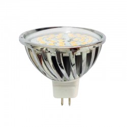 Bombilla LED MR16, 7 W, 4200 K, 520 Lm.