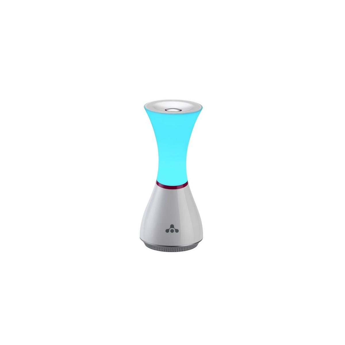 Lámpara de mesa con iluminación LED RGB y altavoz incorporado