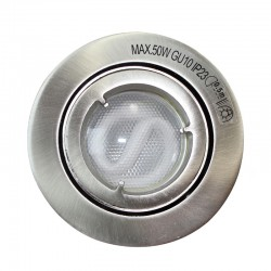 Nickel Recessed Light Low Consumption