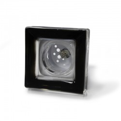 Aneto Recessed Light Black Round