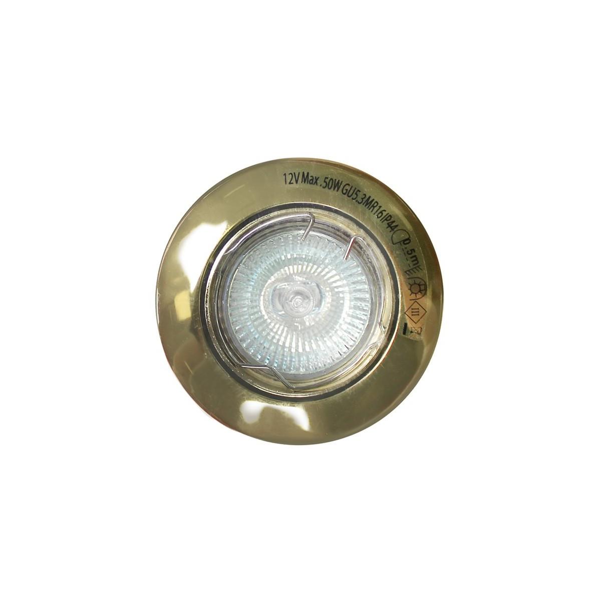 Old Gold Recessed Spotlight (50W halogen)