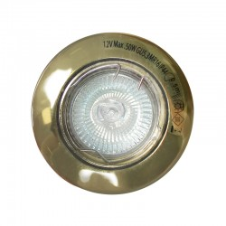 Old Gold Recessed Spotlight (50W halogen)