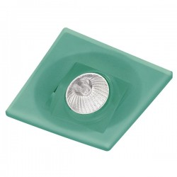 Duna Green Recessed Light Tilting Squared
