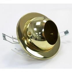 Empotrable bola R-50 dorado