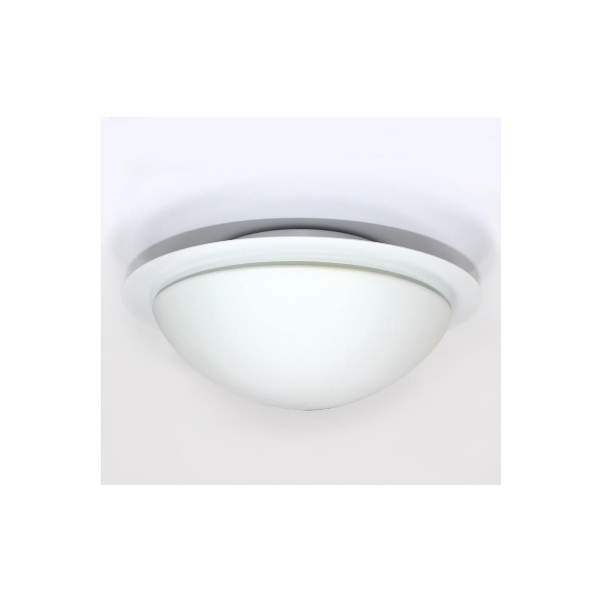 Plafón redondo LED 9W, 650Lm, 4200K