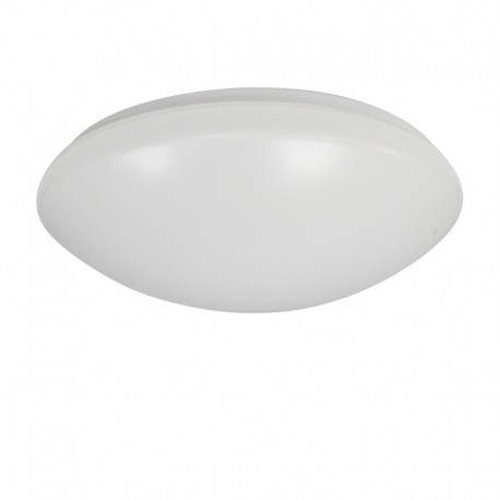 Plafón LED 12W redondo blanco Luna