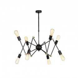 Lámpara de araña ATOMIC 8 brazos