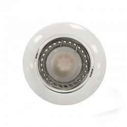 LED Recessed Light GU10 6W Round Tilting White
