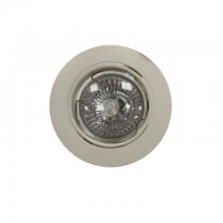 Recessed Light GU10 50W Round Tilting White