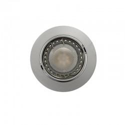 LED Recessed Light GU10 6W Round Steel Tilting