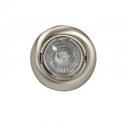 Recessed Light GU10 50W Round Tilting Nickel