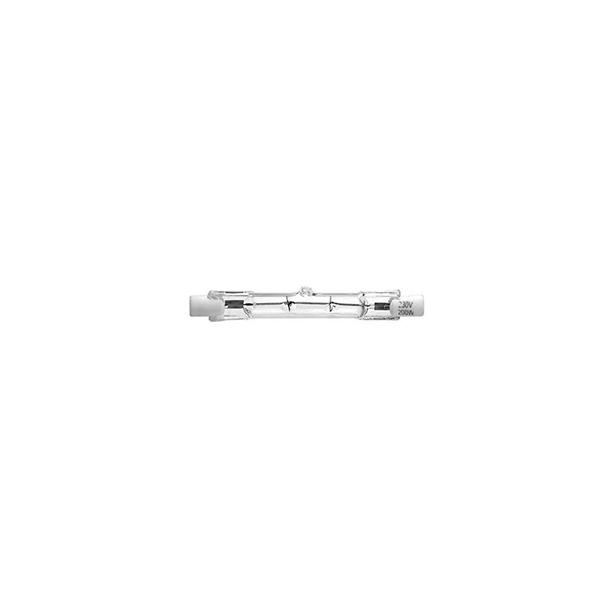 bombilla LINEAL CORTA R7S, 150W, 230V