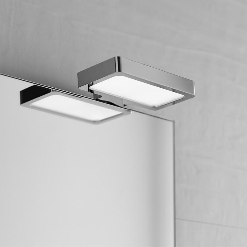Aplique led de 6w rectangular en acero inoxidable apto - Aplique bano led ...