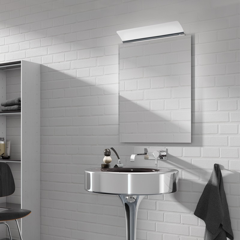 Aplique con luz led de 3w 4000k estructura de aluminio - Aplique bano led ...
