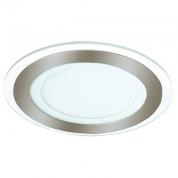DOWNLIGHT LED 6W 3000K KAIRO REDONDO NIQUEL