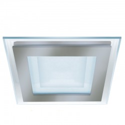Kairo LED Downlight 6W 3000K Square Nickel