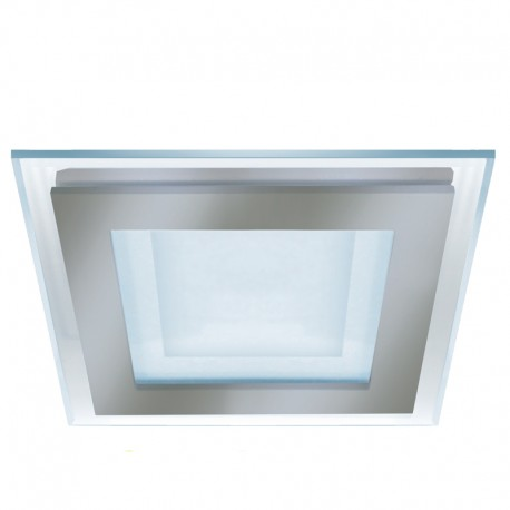 DOWNLIGHT LED 6W 3000K KAIRO CUADRADO NIQUEL