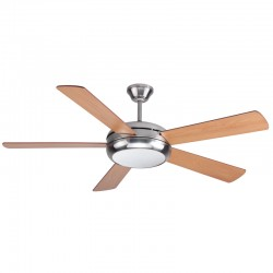 Ceiling fan with Light 132cm Randy Nickel