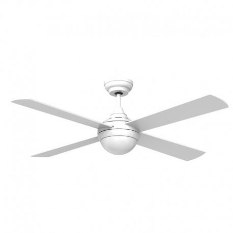 Ventilador LED 4 palas 132cm - Tempo blanco