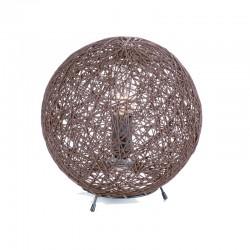 Lámpara sobremesa esférica Alexandra wengue