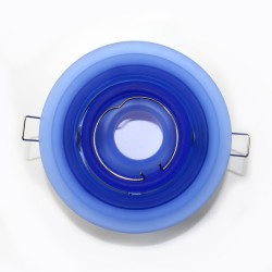Empotrable basculante escalonado azul