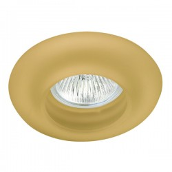 Donut Amber Glass Fixed Recessed Light