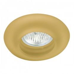 Empotrable fijo cristal donut ambar