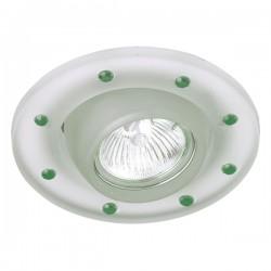 Empotrable cristal basculante chatones verdes