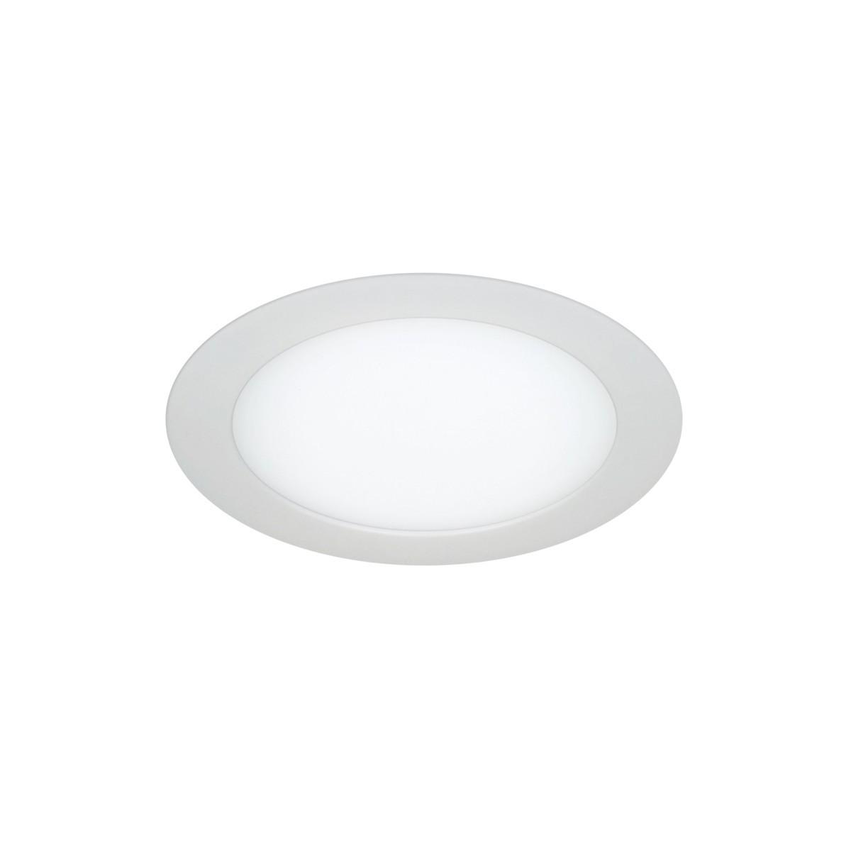 Dowlight 6W Know redondo blanco