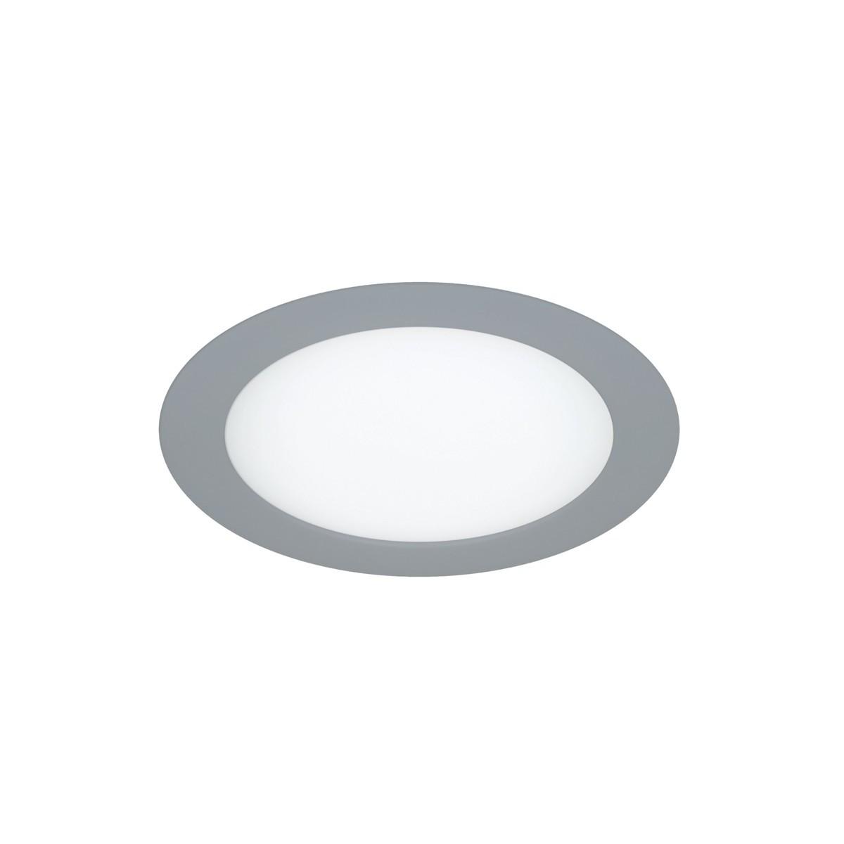 LED Dowlight 12W - round grey know