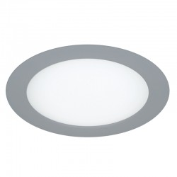 LED Dowlight 12W - round grey know