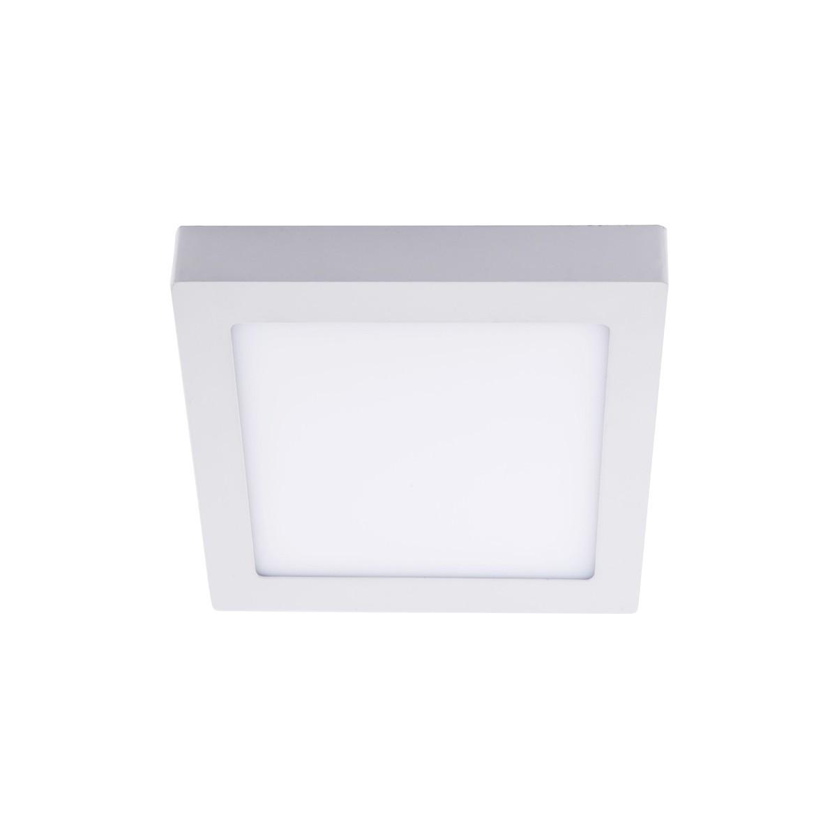 Plafon LED 6W 4000K Know cuadrado blanco