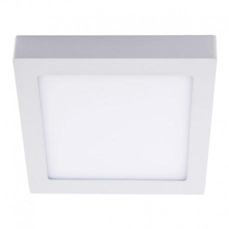 LEd flush ceiling lamp - square white know