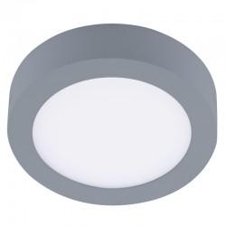 Plafon LED 18W 4000K Know redondo gris