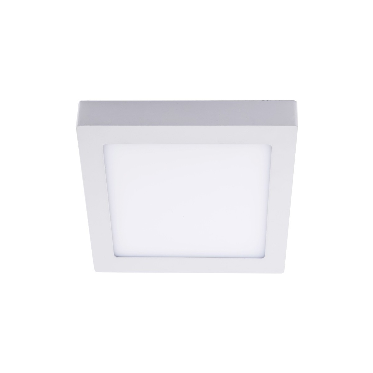 Plafon LED 12W 4000K Know cuadrado blanco