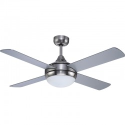 Ceiling fan 4 blades 132cm - Millar white