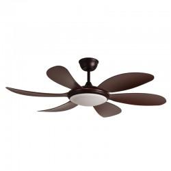 Tanik DC LED Ceiling Fan CCT Brown