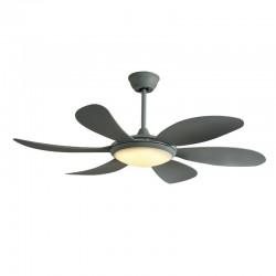 Tanik DC LED Ceiling Fan 3 CCT Silver