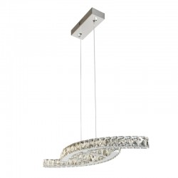 24W LED CEILING LAMP CRYSTAL K9 ALBA