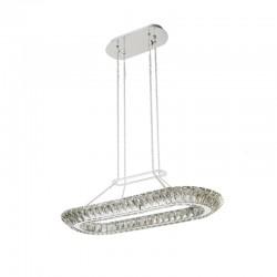 LAMPARA LED CRISTAL K9 ALBA