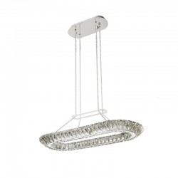 LED CEILING LAMP CRYSTAL K9 ALBA
