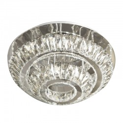 LED FLUSH CEILING LAMP CRYSTAL K9 VERSUS