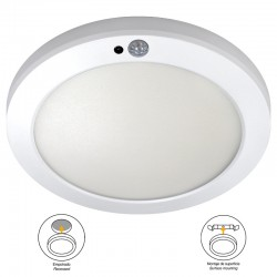 DOWNLIGHT LED 18W TEKIA WITH MOTION SENSOR