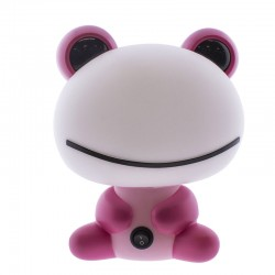 Pink Frog Children Table Lamp