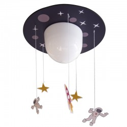 PLANET FLUSH CEILING LAMP FOR KIDS