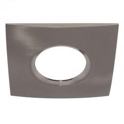 Bezel Recessed Light Accessory Square Nickel
