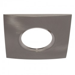 Bezel Recessed Light Accessory Square Nickel
