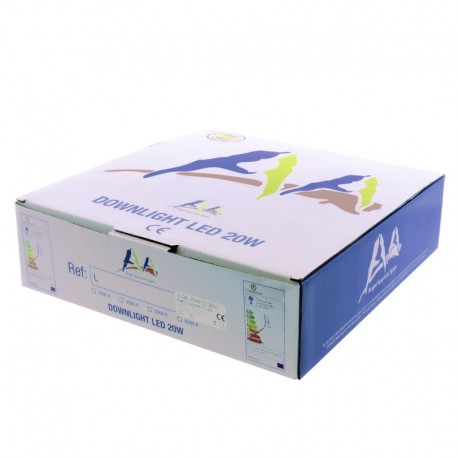 Empotrable LED 20W 5000K Serie 51 - TCI
