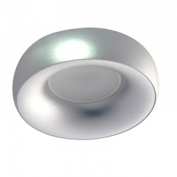NABILA SILVER ROUND FIXED RECESSED SPOTLIGHT