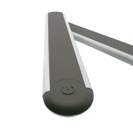 Flexo LED 6W para pared. MEL gris claro